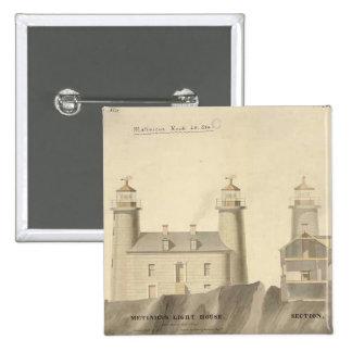 Matinicus Rock Lighthouse Schematics Button