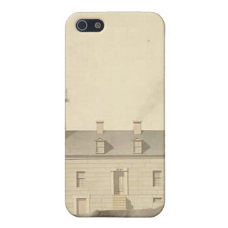 Matinicus Rock Lighthouse Schematics iPhone 5 Cover
