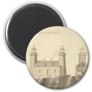 Matinicus Rock Lighthouse Schematics Magnets