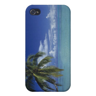 Matira Beach on the island of Bora Bora, iPhone 4 Covers