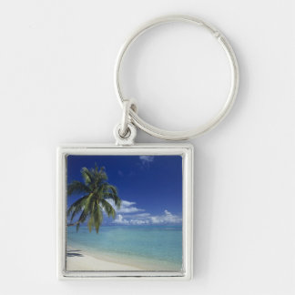 Matira Beach on the island of Bora Bora, Key Ring