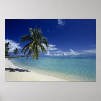 Matira Beach on the island of Bora Bora, Posters