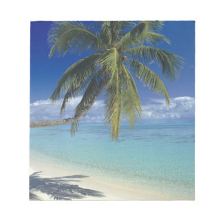 Matira Beach on the island of Bora Bora, Society Notepad