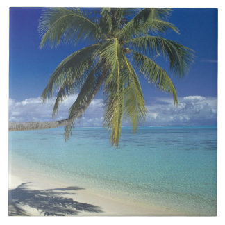 Matira Beach on the island of Bora Bora, Society Tile
