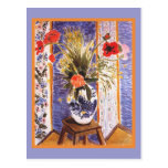 Matisse Flowers in a Bowl Postcard