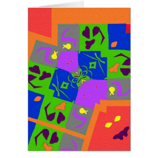 Matisse Style Shapes Card