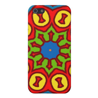Matisse Style Shapes Case For The iPhone 5