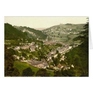 Matlock Bath, Derbyshire, England Card