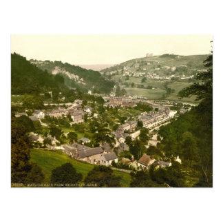 Matlock Bath, Derbyshire, England Postcard