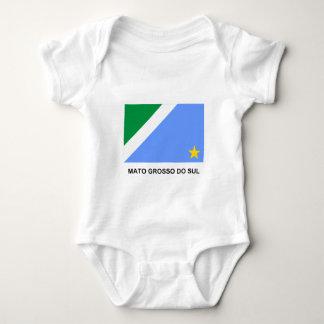 Mato Grosso do Sul, Brazil Flag Baby Bodysuit