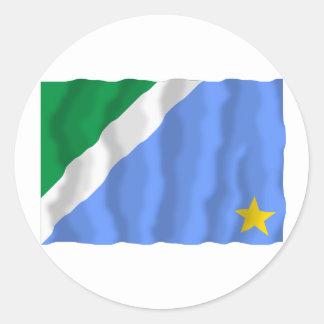 Mato Grosso do Sul, Brazil Waving Flag Sticker