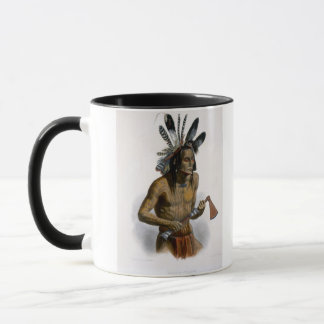 Mato-Tope, Adorned with the Insignia of his Warlik Mug