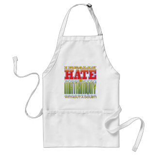 Matrimony Hate Face Aprons