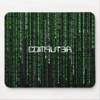 Matrix-Code, C0M9UT3R Mouse Mat