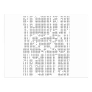 Matrix Pad - Controller Gamer Video Games Gaming Postcard