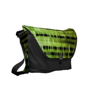Matrix Pattern Rickshaw Messenger Bag