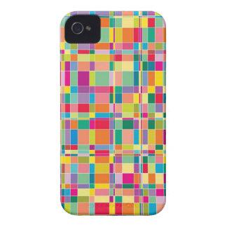 Matrix Squares Mosaic Colors iPhone 4 CaseMate Case-Mate iPhone 4 Cases