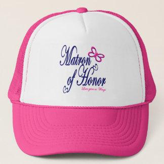 Matron of Honor / Butterfly Trucker Hat