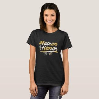 Matron of Honor, Entourage Wedding T-Shirt