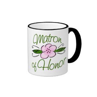 Matron of Honor Ringer Mug