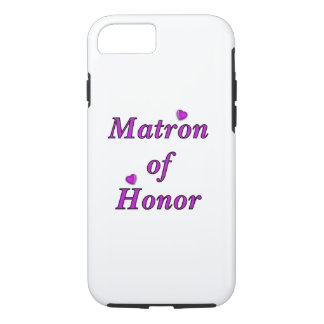 Matron of Honor Simply Love iPhone 7 Case
