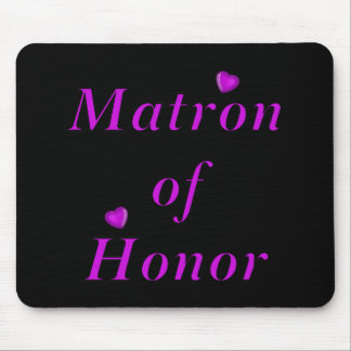 Matron of Honor Simply Love Mousepad