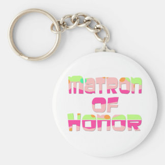 Matron of Honor Tees and Gifts Key Chains