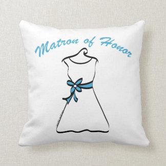 Matron of Honor Throw Cushions