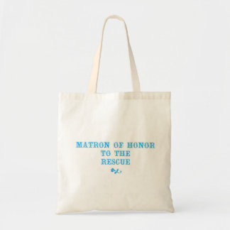 Matron of Honor Tote Aqua