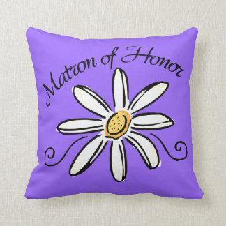 Matron of Honor Wedding Cushions