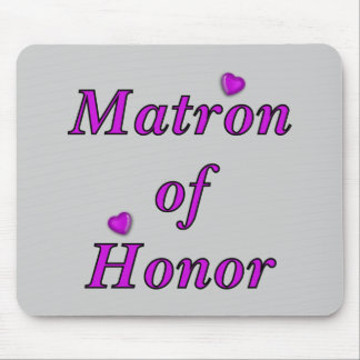 Matron of Honour Simply Love Mouse Pad