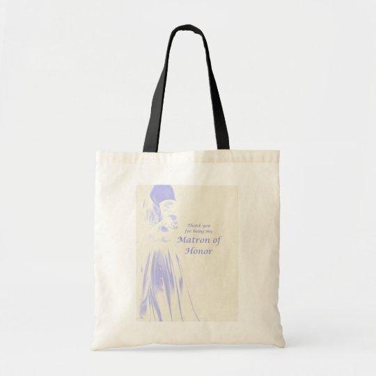 Matron of Honour Thank You Gift Tote Bag