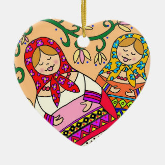 Matroshka Christmas Ornament