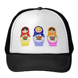 Matryoschka dolls cap