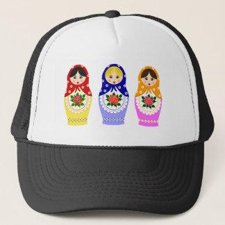 Matryoschka dolls trucker hat