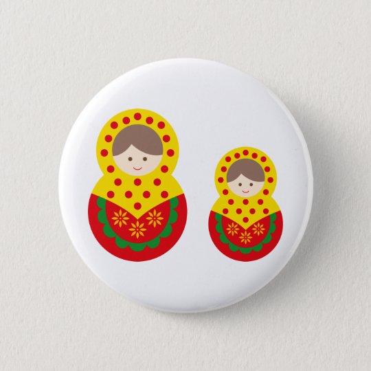 matryoshka die cu tB 2 6 Cm Round Badge
