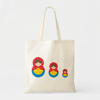 matryoshka die cut A 1 Tote Bag