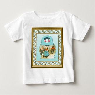 Matryoshka dolls baby T-Shirt