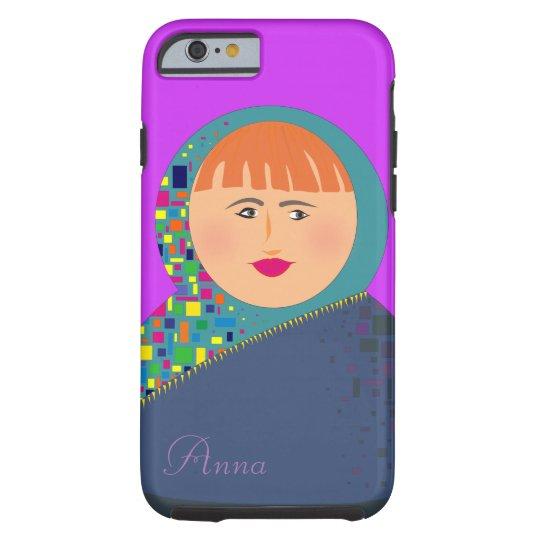 Matryoshka Modern Colorful Bright Personalized Tough iPhone 6