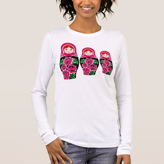 MATRYOSHKA,RUSSIAN DOLL LONG SLEEVE T-Shirt