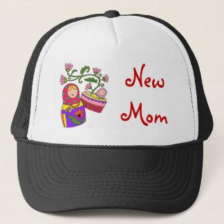 Matryoshka's Baby New Mom Trucker Hat