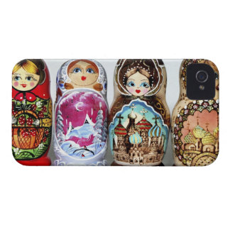 Matryoshkas iPhone 4 Case-Mate Case
