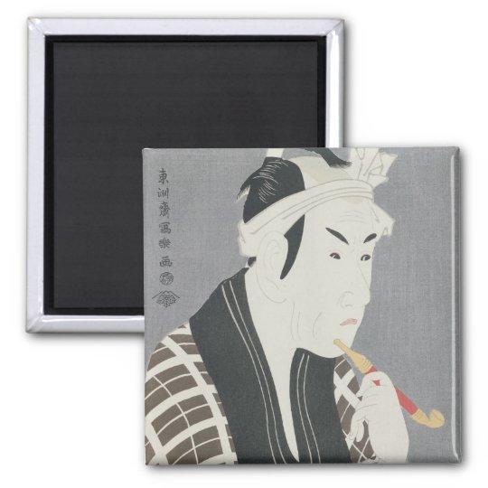 Matsumo Koshiro IV in the Role of Gorebei Magnet