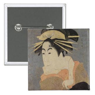 Matsumoto Yonesaburo in the role 15 Cm Square Badge