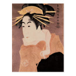 Matsumoto Yonesaburo in the role of the courtesan Postcard