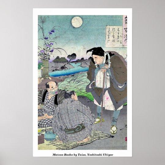 Matsuo Basho by Taiso, Yoshitoshi Ukiyoe Poster