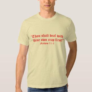 Matt 7:1-3 tshirt