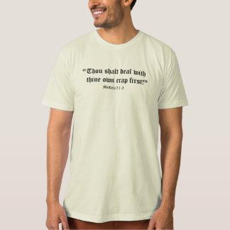 Matt 7:1-3 tshirts
