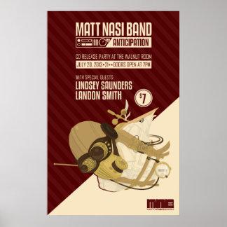 Matt Nasi Band Steam Punk Poster
