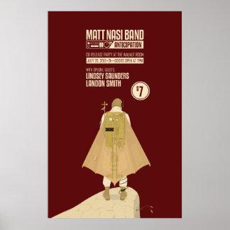 Matt Nasi Band Steam Punk Poster. 1 of 2 Poster